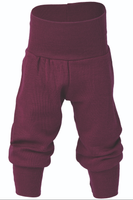 Organic Wool / Silk Baby Pants Color: Orchid