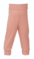 Organic Wool / Silk Baby Pants Color: Lachs