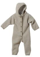 Disana Organic Boiled Wool Bunting Color: Grey