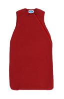 Organic Wool Fleece Sleep Sack Color: Burgandy Red