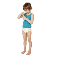 Organic Cotton Boys' Underwear- Pack of 2