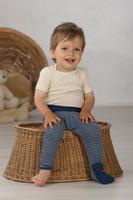 Cosilana Organic Wool/ Silk Baby Pants with Optional Feet