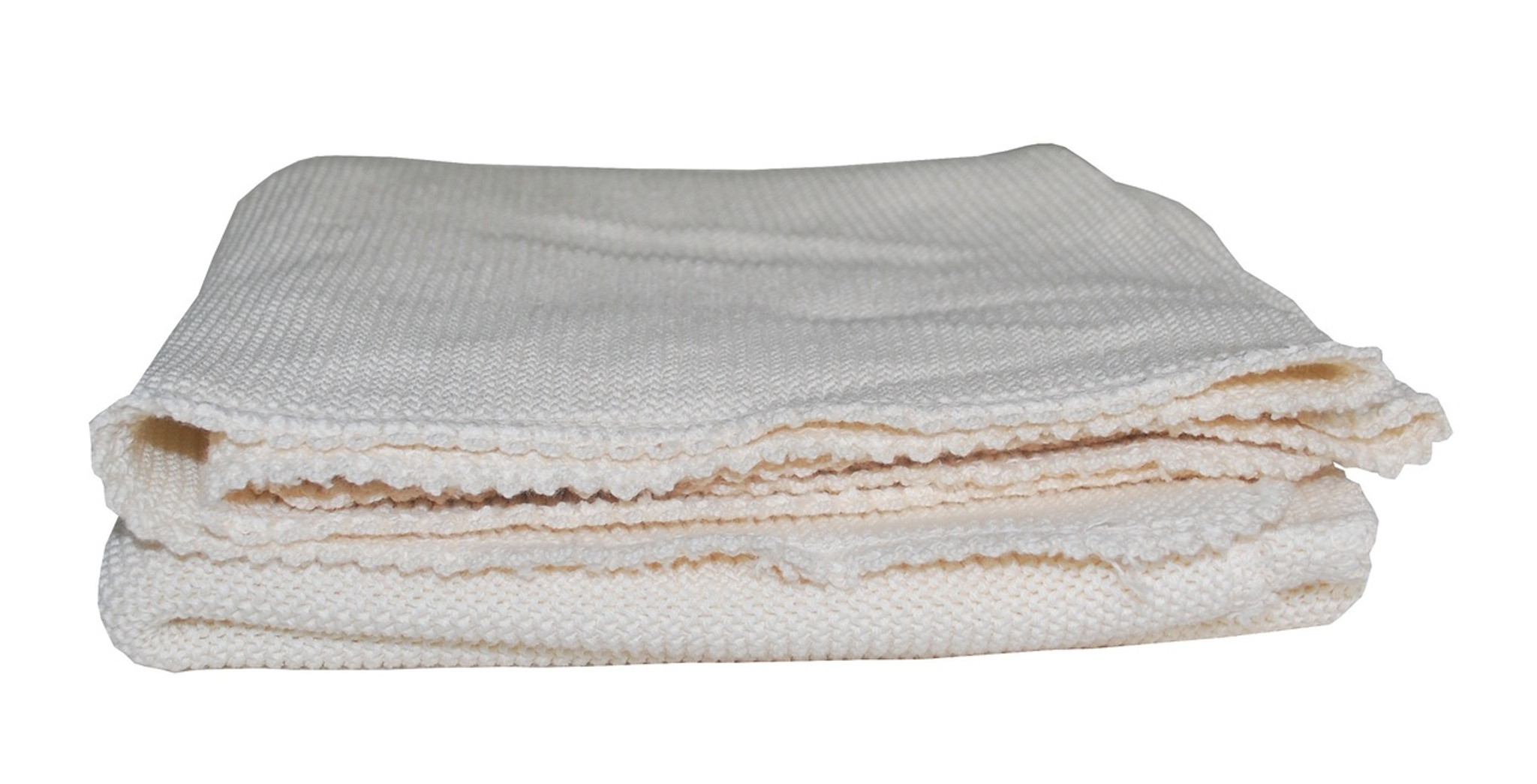 Organic Cotton Knitted Baby Blanket Little Spruce Organics