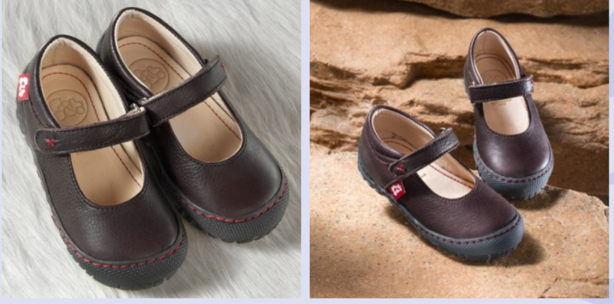 Ecological children/'s leather shoes Pololo Maxi Mercedes