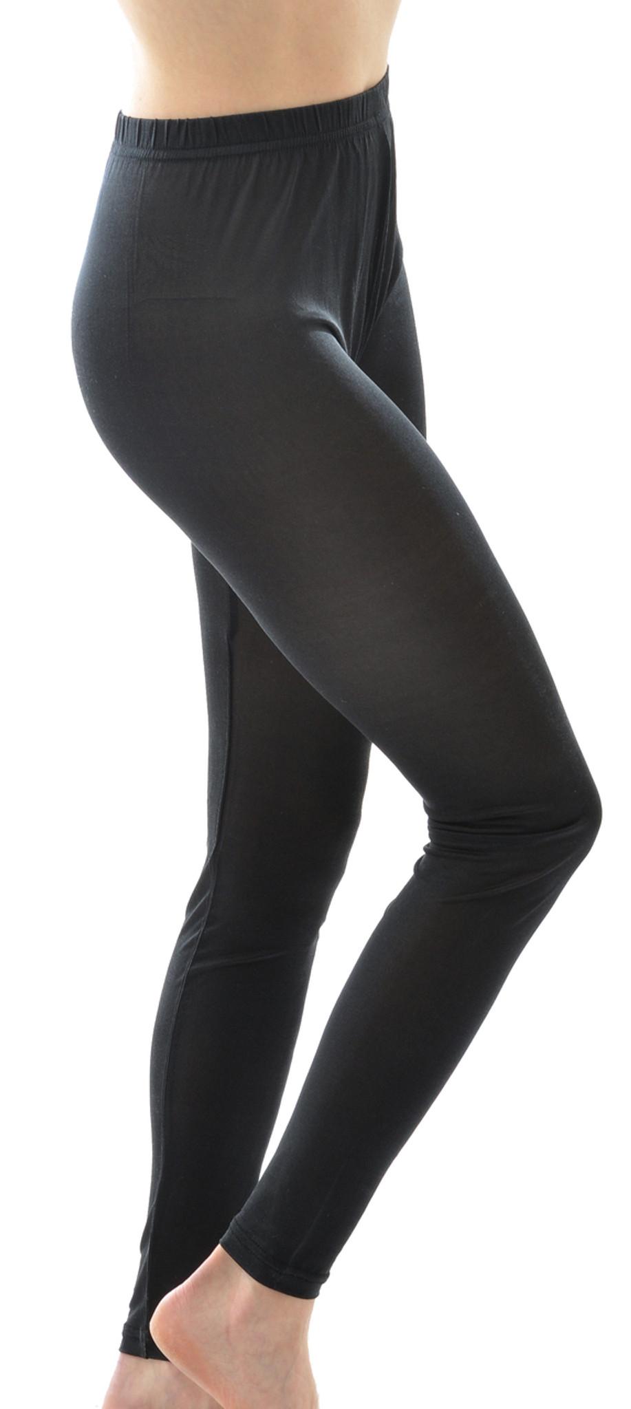7e9ca4606d1a Organic Silk Jersey Leggings for Women - Little Spruce Organics