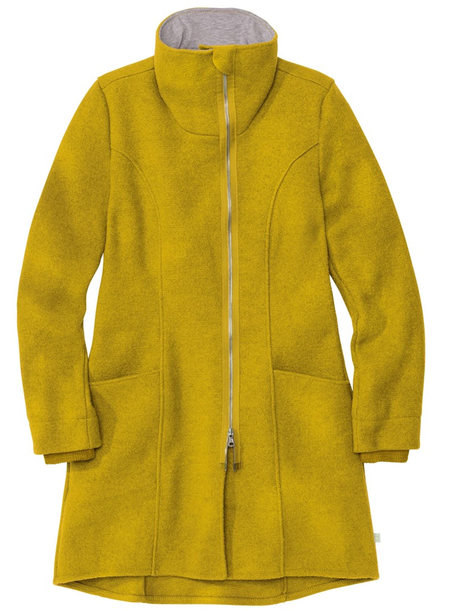 new arrivals b4e76 ac2d9 Disana Organic Boiled Wool Women's Coat - Little Spruce Organics