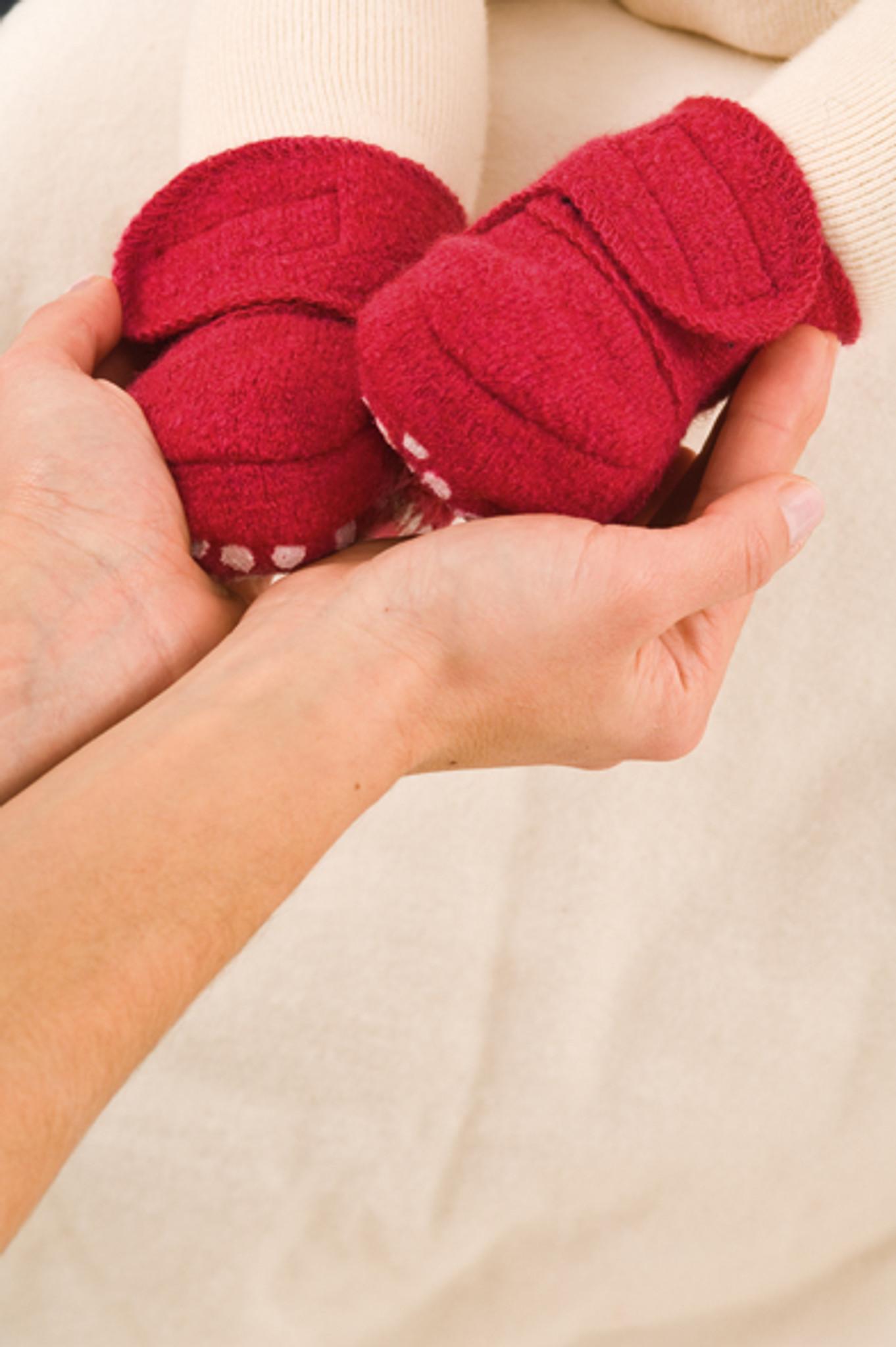 Disana Boiled Wool Booties - Little