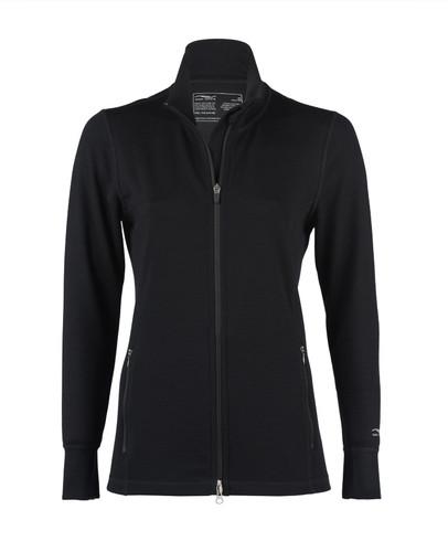 Organic Wool/ Silk Women's Zip Jacket