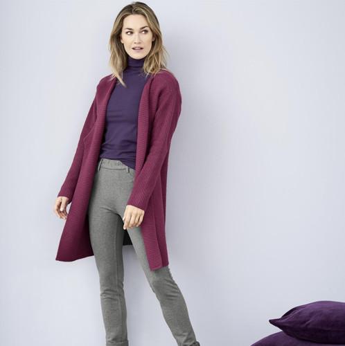 Women's Organic Cotton Wool Cardigan