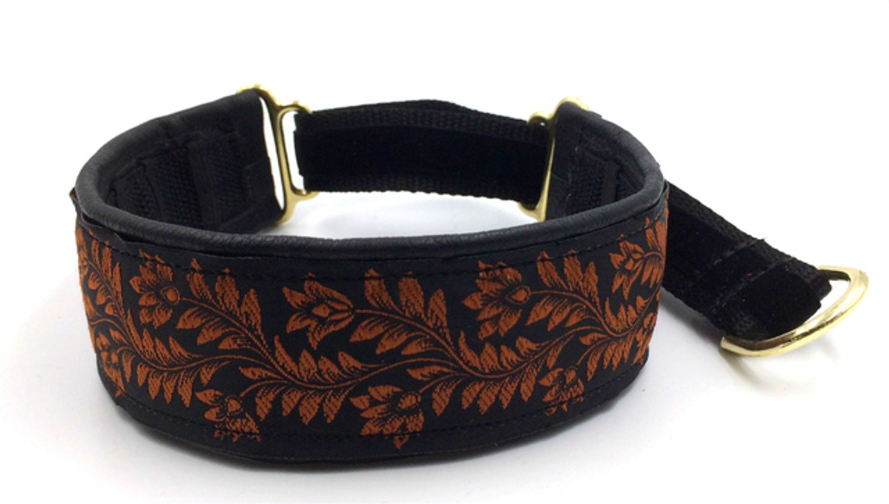 "1.5"" Elite Leather Private Prong Collars"