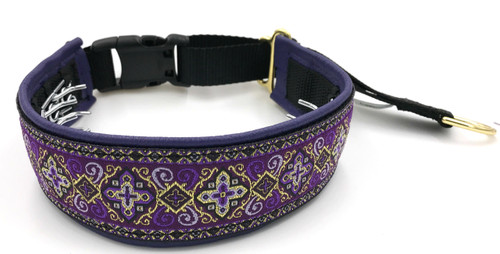 "1.5"" Purple Croix Elite Private Prong Collar"