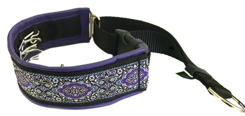 "1.5"" Bulgaria Purple Elite Private Prong Collar"