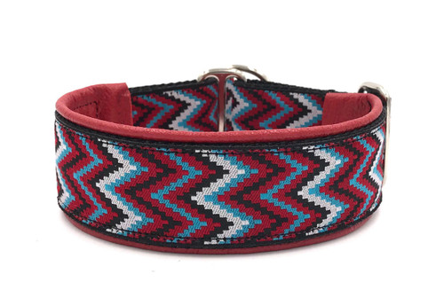 "1.5"" Ziggy Red Elite Collar"