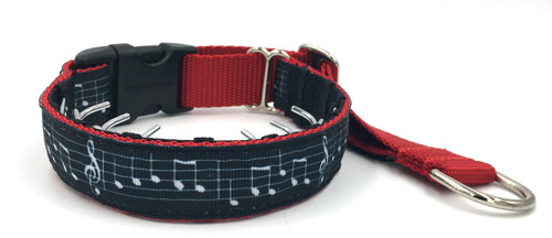 """Take Note 1"""" Private Prong Collar"""