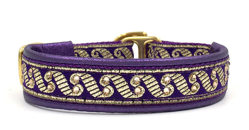 "1/2"" Purple Regency Swarovski Collar"