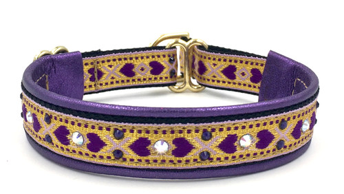 "1/2"" Queen of Hearts Swarovski Collar"