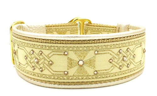 "1.5"" Celtic Gold Swarovski Collar"