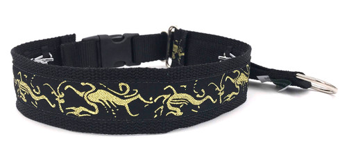 "1.5"" Dancing Dragon Private Prong Collar"