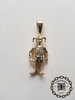 Moveable Jester Pendant 17 grams 51mm high