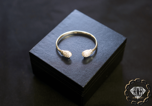 CHILDRENS BOXING SILVER BANGLES
