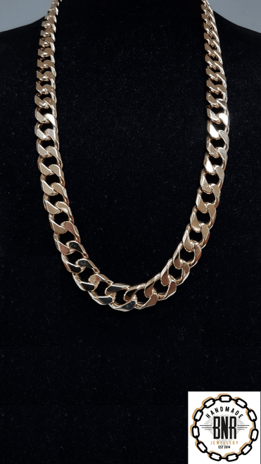FACETED CURB CHAIN - 26 inch 209 grams