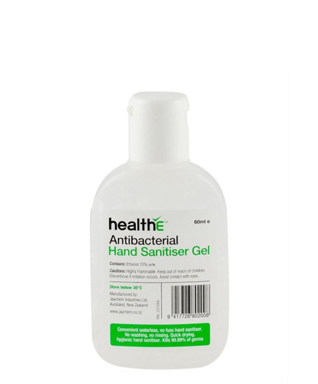 Antibacterial Hand Sanitiser Gel, 60ml