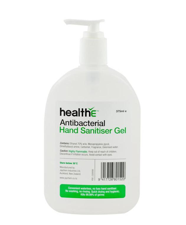 Antibacterial Hand Sanitiser Gel 375ml