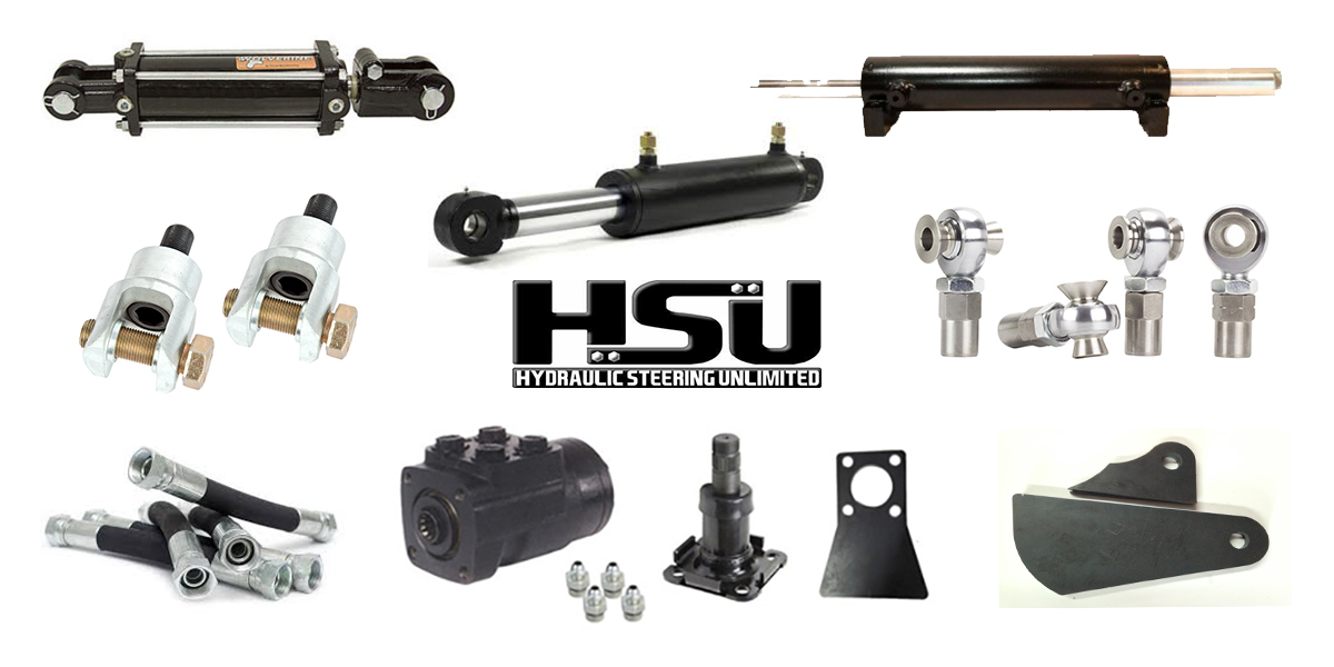 Hydraulic Steering Orbital Valves, Columns, Cylinders and more!
