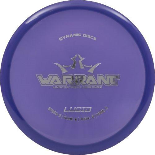 Dynamic Discs Warrant (Lucid)