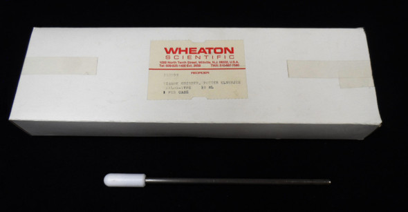 Wheaton 358039 Potter-Elvehjem Style Tissue Grinder PTFE 10mL Capacity
