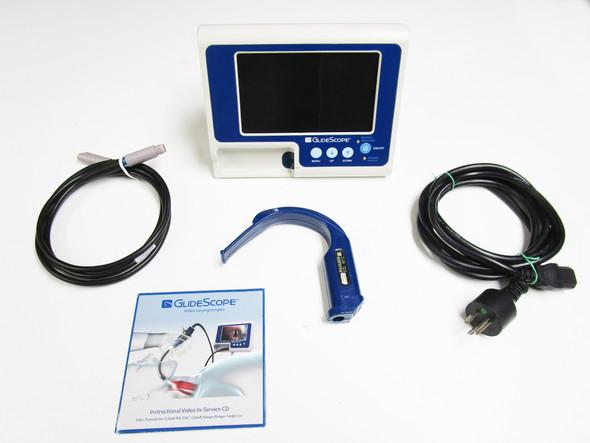 GlideScope Verathon Portable GVL Video Laryngoscope w/ Blade