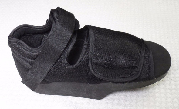 DARCO Wedge Off loading Shoe Post Op Shoe - Medium Unisex Black