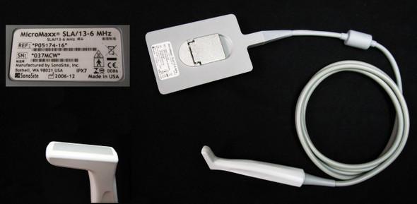 Sonosite MicroMaxx SLA/13-6 Mhz Ultrasound Transducer Probe P05174-16