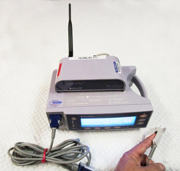 Nellcor OxiMax N-600x SpO2 w/ OxiNet III Remote 60 Day Warranty