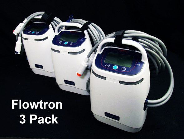 Arjo Flowtron ACS800 Compression Pump 3 Pack with Warranty