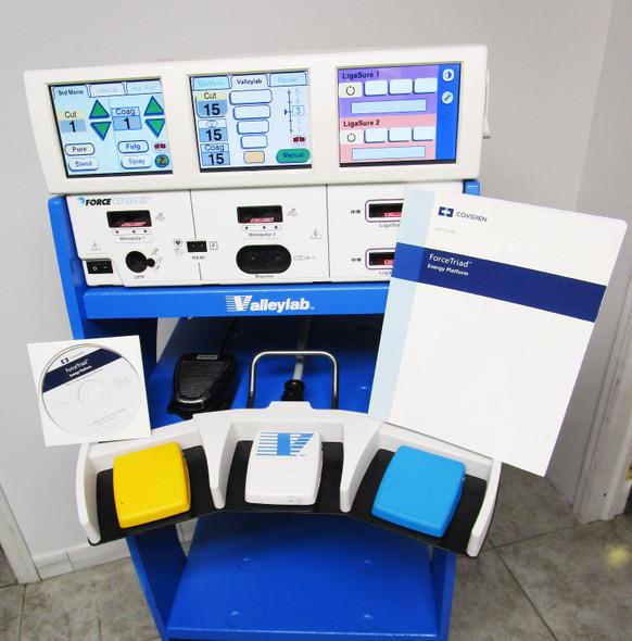 Covidien ValleyLab ForceTriad ESU Energy Platform