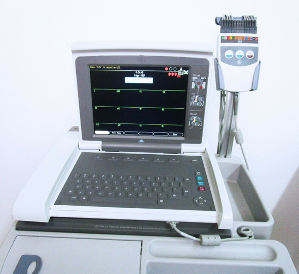GE Mac 5500 Color ECG with Cam, Leads and Wifi