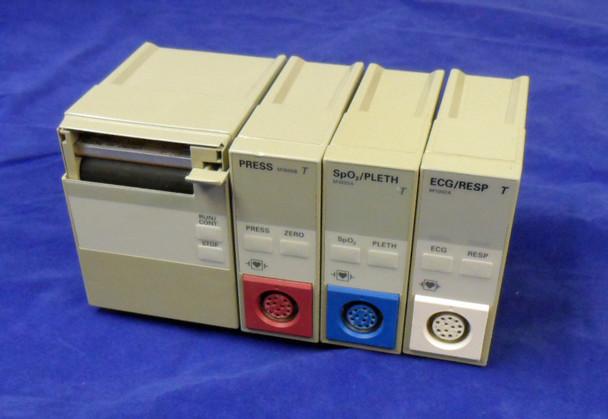 Lot of 4 Hewlett Packard  HP Patient Modules M1116B M1006B  M1002A  M1020A