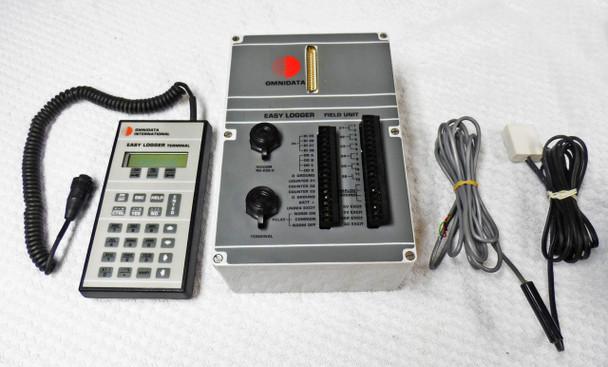 Omnidata Easy Logger EL-820 Terminal & EL-824 Field Unit - Excel