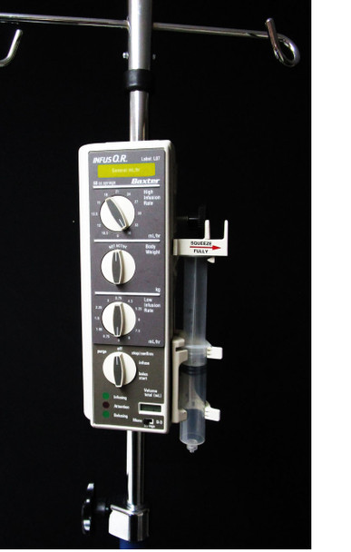 Baxter Bard Infus OR Syringe Pump w/ Label Kit and Warranty