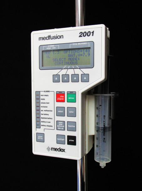 Medex Medfusion 2001 Syringe IV Fluid Pump - Tested