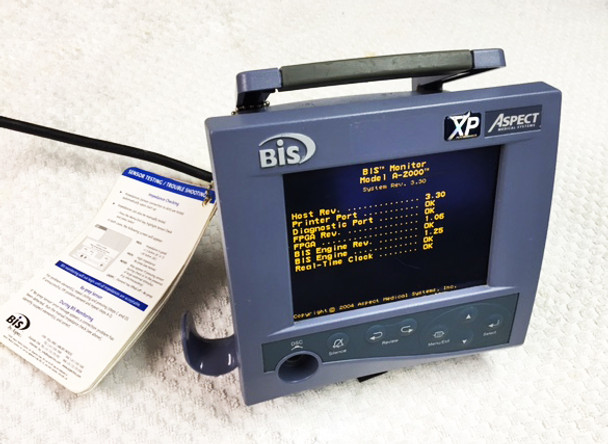 Aspect Medical A-2000 BIS XP Platform Bispectral Index Anesthesia Monitor DSC-XP