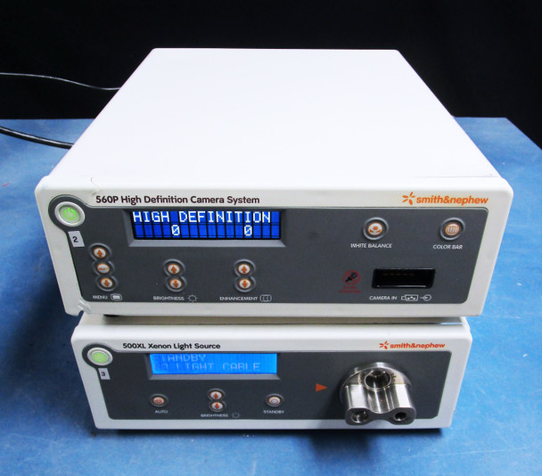 Smith & Nephew 500XL Xenon Light Source & 560P High Definition Camera Processor