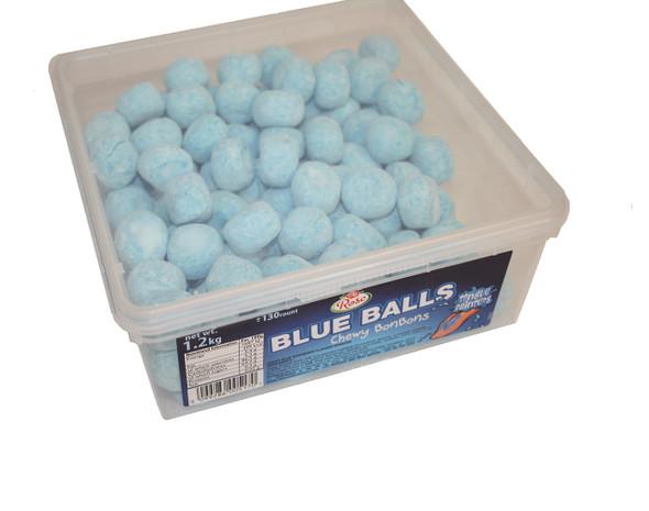 Chewy  Blue Raspberry Flavour Bon Bons