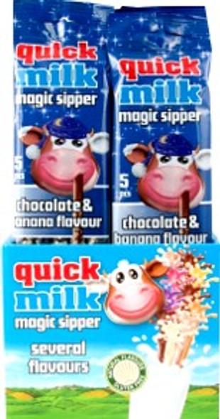 20x5pk Quick Milk Chocolate & Banana €1.50