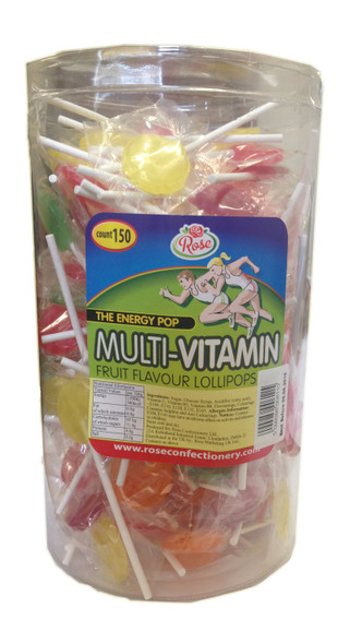 Fruit Flavoured Multi Vit Lollipop