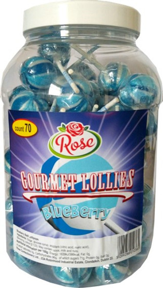 Blueberry Flavoured Lollypop