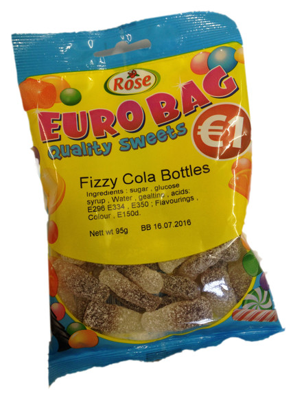 Fizzy Cola Bottles