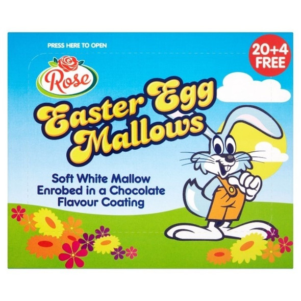 Chocolate Coated Marshmallow Easter Egg
