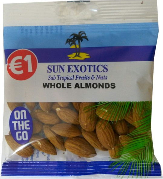 Whole Almonds in Handy Size Bag